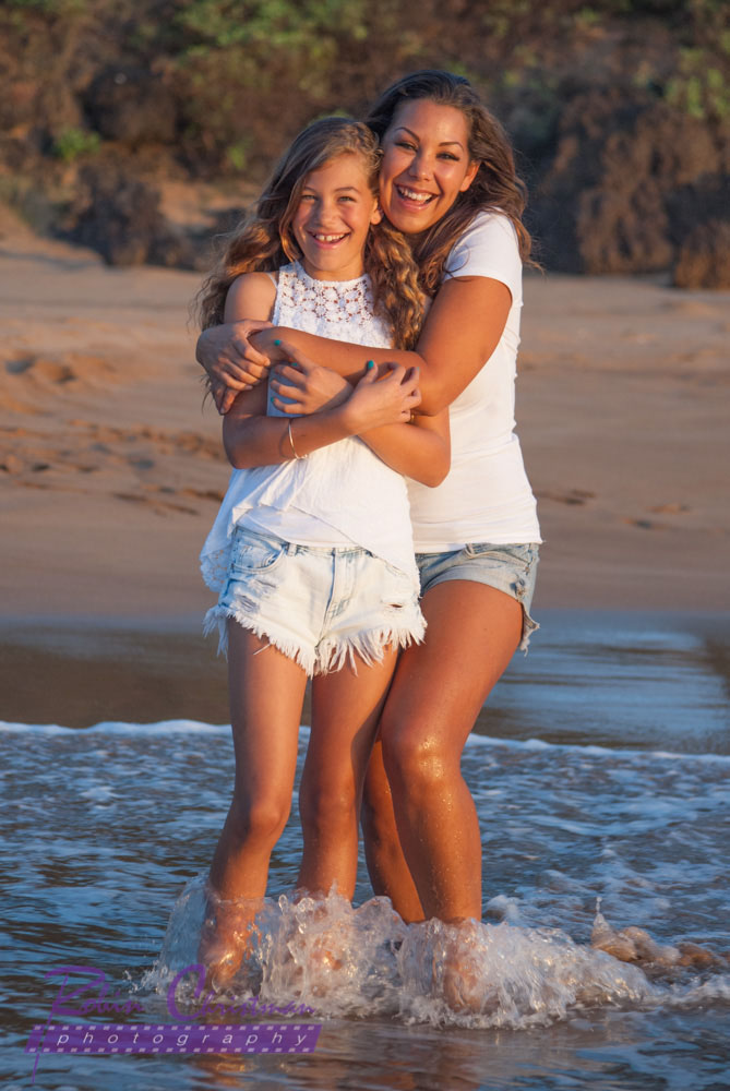 Maui Mother Daughter Photo Session